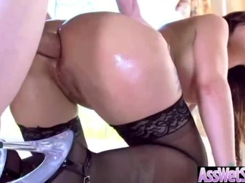 (syren de mer) woman with curvy big butt get her ass nailed video-29