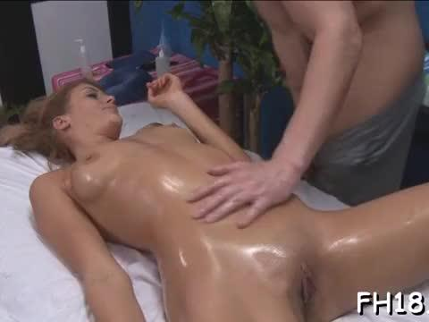 Gorgeous hottie gets a hard fuck after a massage that is